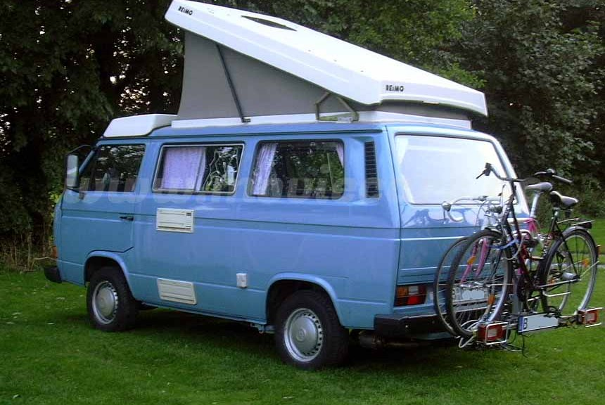 Volkswagen VW T3 Camper Westfalia blau 1983 (1)